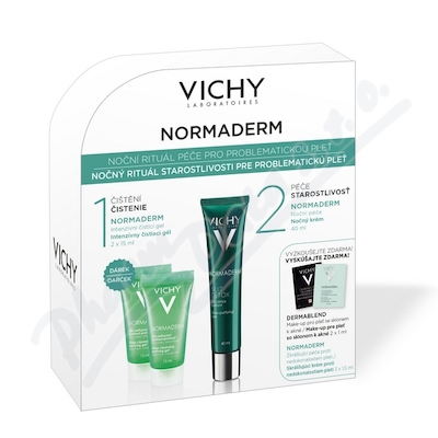 VICHY Normaderm NIGHT PACK 2016