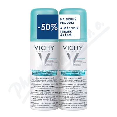 VICHY DEO spray Anti-trace DUO 17 2x125ml
