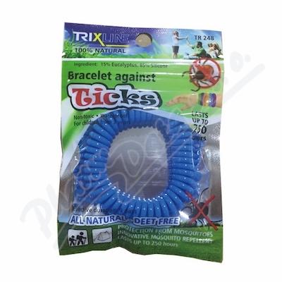 Trixline náramek proti klíšťatům různé barvy 1ks