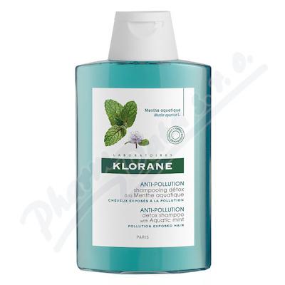 KLORANE Šampon máta vodní-detoxikační 200ml