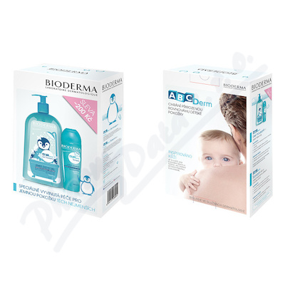 BIODERMA ABCDerm Gel mouss.1l+ABCDerm Šampon 200ml