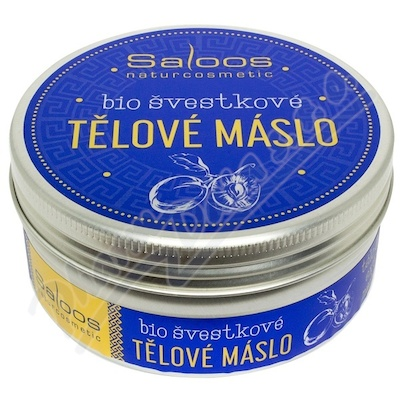 Saloos Šlehané máslo BIO tělové švestkové 150ml